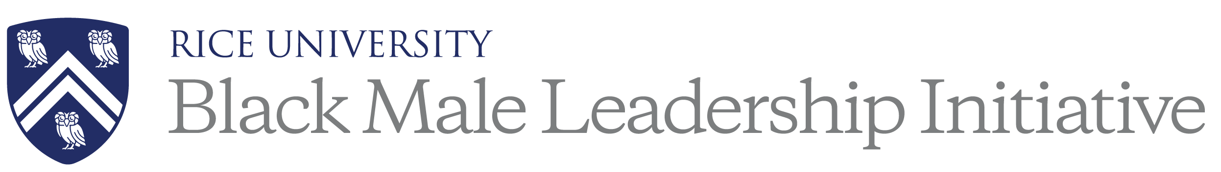 Rice University Black Male Leadership Initiative Logo