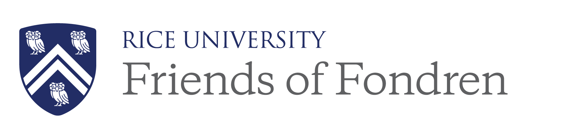 Friends of Fondren Library Logo