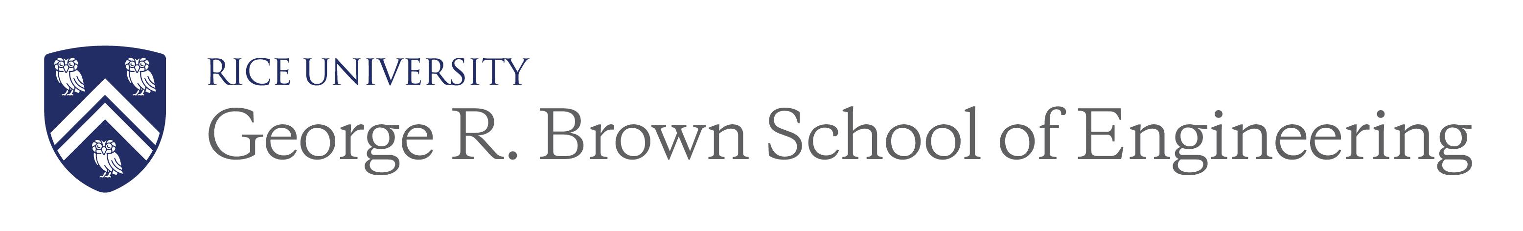 Rice University's George R. Brown School of Engineering Logo