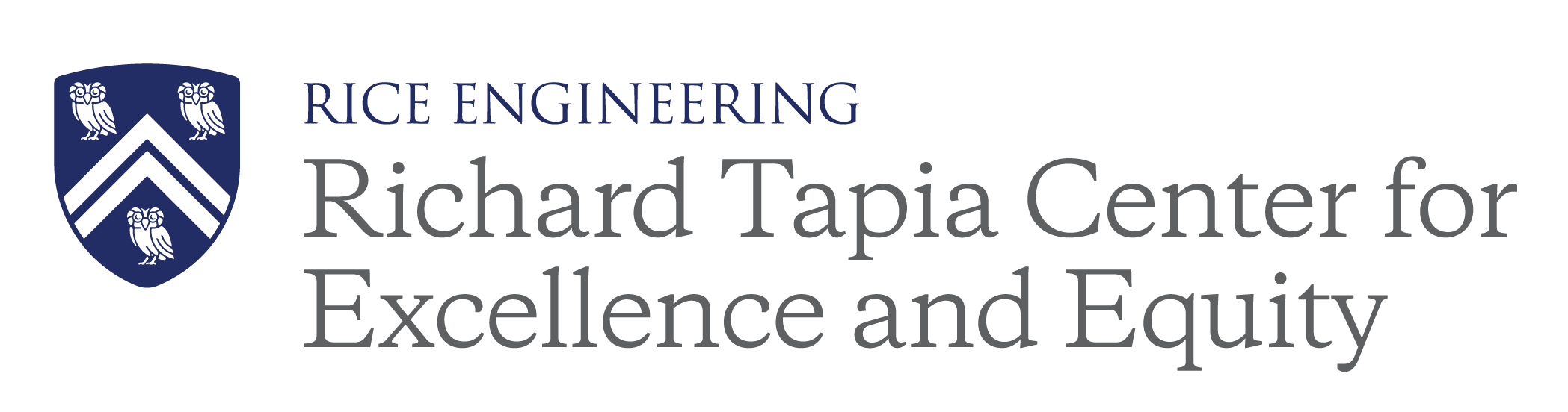 Richard Tapia Center for Excellence and Equity at Rice University Logo