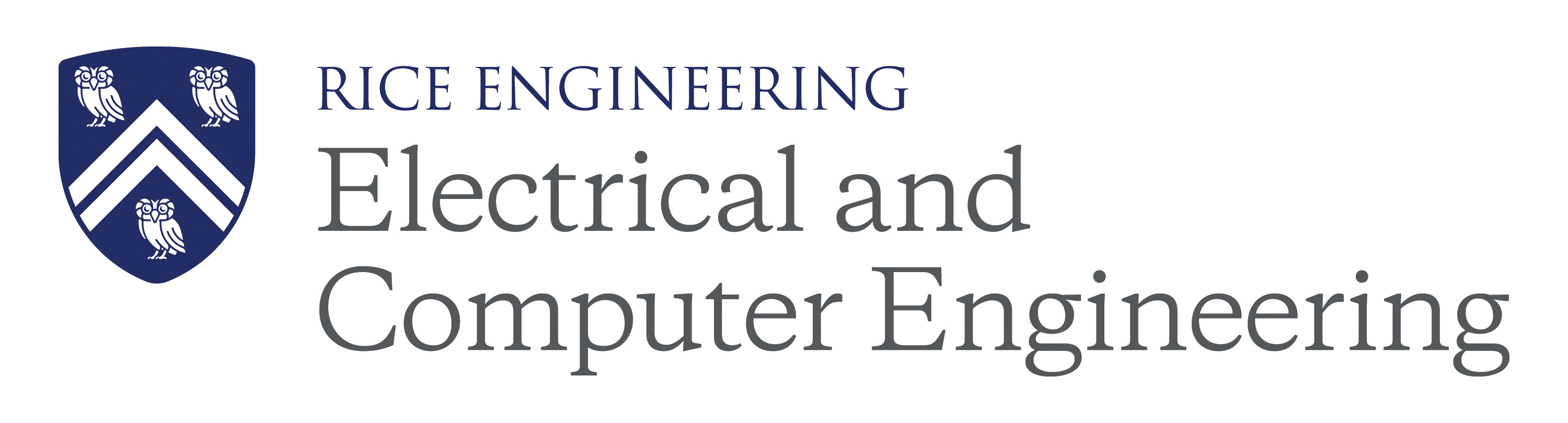 Rice University Electrical and Computer Engineering Department Logo