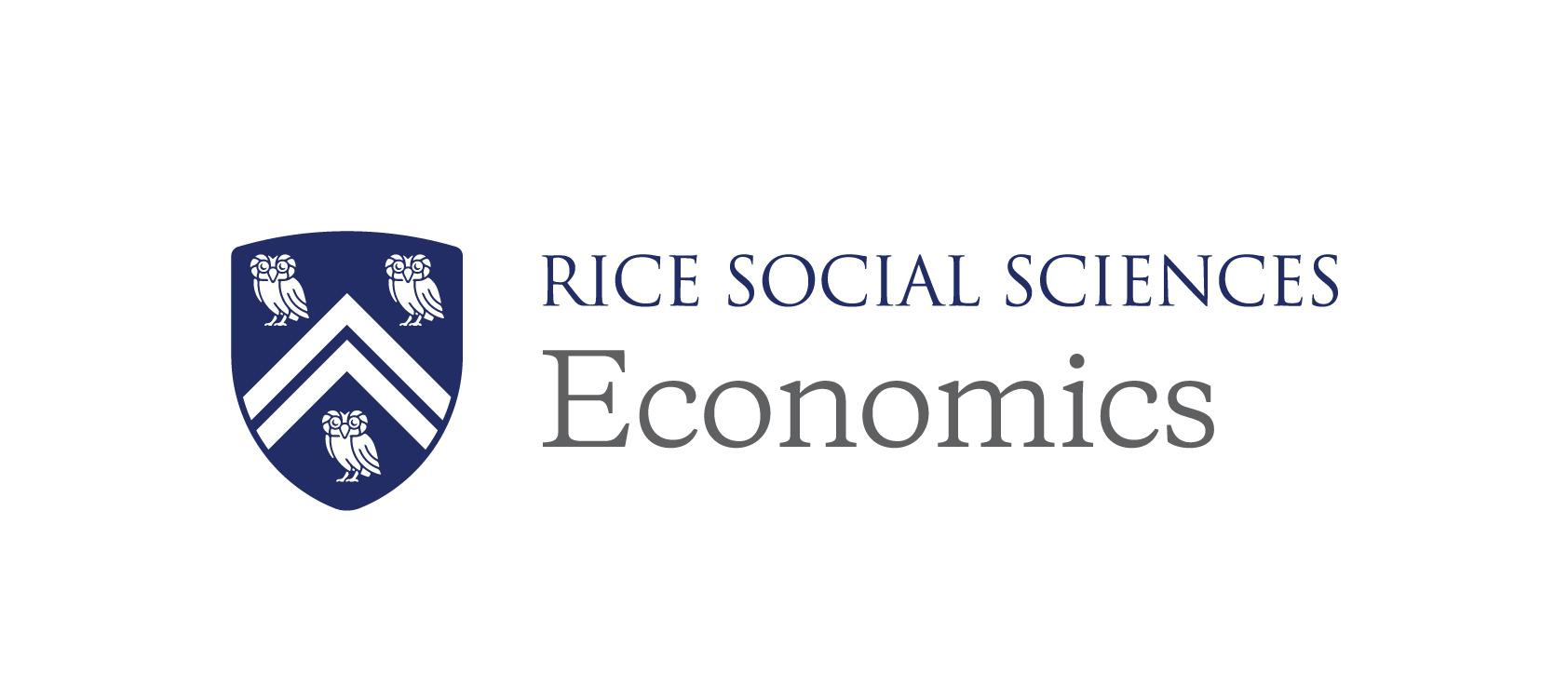 Rice University School of Social Science Department of Economics