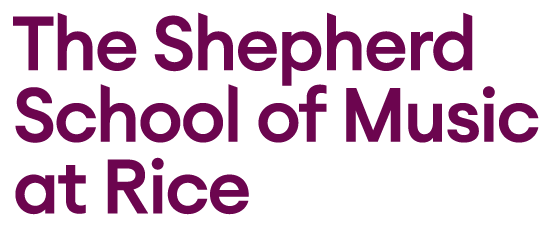 The Shepherd School of Music at Rice logo
